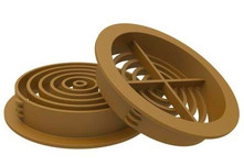 Soffit Board 70mm Disc VentilatorCaramel
