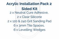Acrylic Installation Pack 2 Sided KitKit