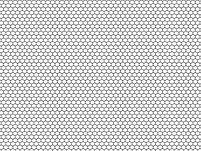 Acrylic Panel Gloss 2440 x 1220 x 4mm Hexagon