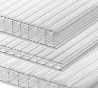 Clear Multiwall Polycarbonate Sheeting - 25mm -35mm -16mm