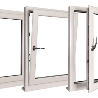PVC White Tilt and Turn Windows