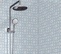Print Acrylic Shower Panel In Maltese Bl