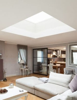 Flat Fixed rooflight in a lounge.jpg