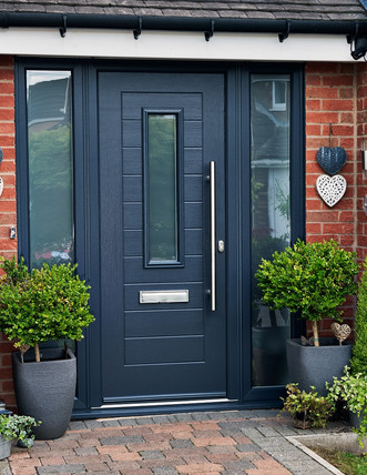Endurance Door in Anthraite Grey