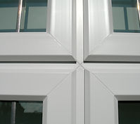 PVC Chamfered Profile Window