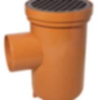 UPVC 110mm Underground Drainage Bottle Gully In Terracota