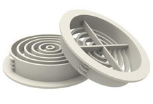 Soffit Board 70mm Disc VentilatorWhite