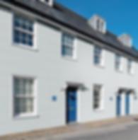 Grey Durasid Elegance Sidings Cladding On A Row Of Houses