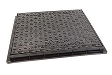 Chambers, Risers & Lids450mmSquare Inspection Chamber Cover And FrameBlack