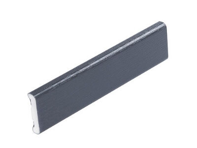 25mm D Section Anthracite Grey