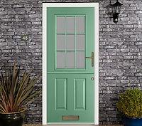 Stable door in chartwell green - endurance