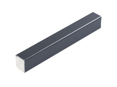 15mm x 13mm RectangleSmooth Anthracite