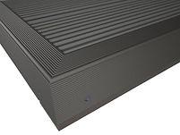 Aluminium F Section/ Kickplate Black