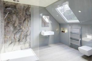 Bathroom-floor-shower-panel