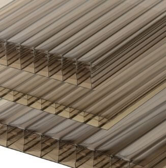 Bronze Multiwall Polycarbonate Sheeting