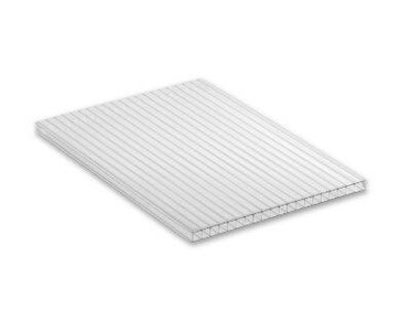 10mm Clear Polycarb Twinwall Sheet