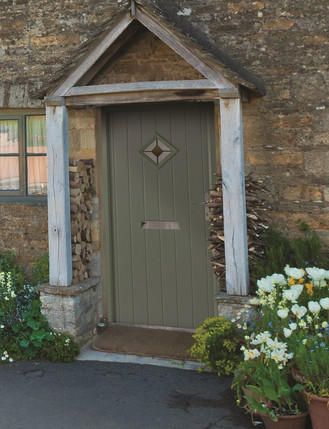 Belfry Castle Collection Composite Door In Chartwell Green