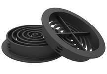 Soffit Board 70mm Disc VentilatorBlack