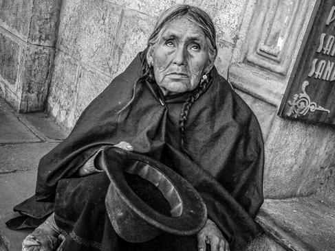 Bolivian matriarch