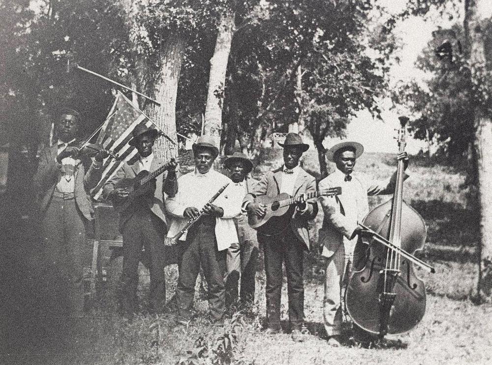 Early Juneteenth Celebration. Texas, 1900