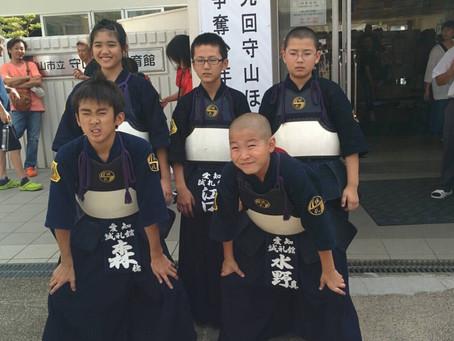 第9回守山ほたる杯争奪少年剣道錬成大会