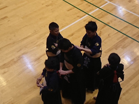 第12回小牧山城杯中部少年剣道大会
