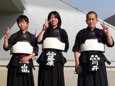 第50回全国道場少年剣道大会予選会・令和3年度若鯱錬成会