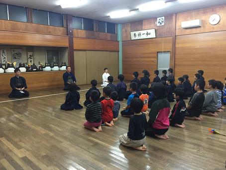 5月12日(土)無料体験、剣道教室開催