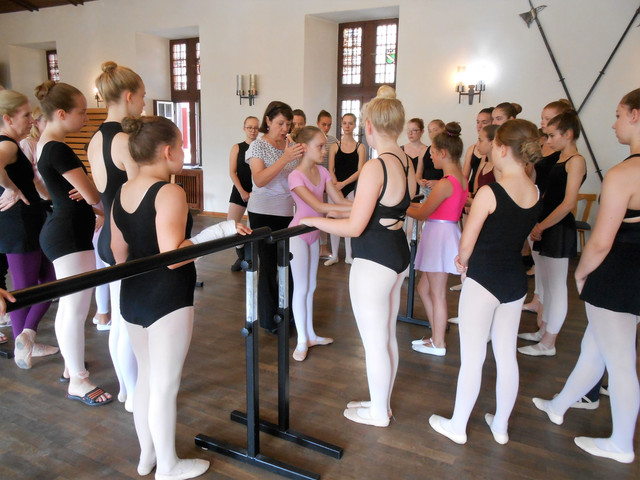 Ballettferien auf der Burg 2018