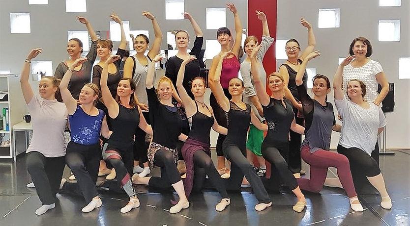 Ballettausbildung 7.Klasse A-Kurs Ballet
