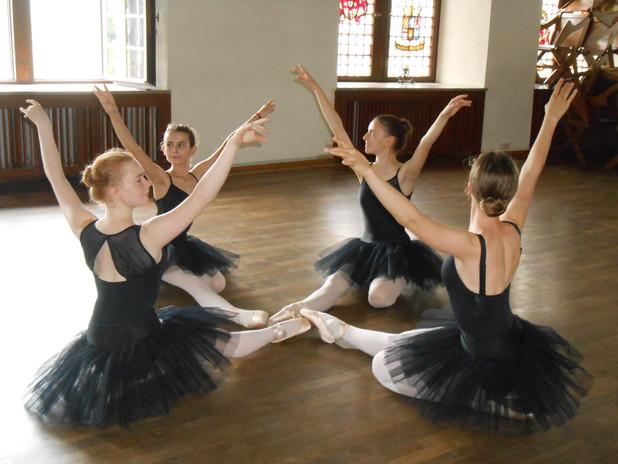 Ballettferien auf der Burg 2017