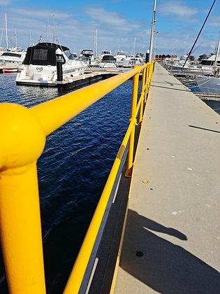 Marine Hand Rails w/Kick Rails