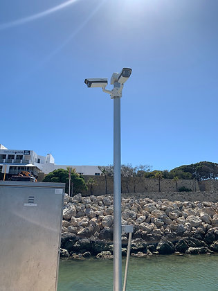 Lighting/CCTV Pole