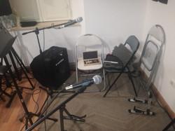 Studio24 - Microfoni Sala