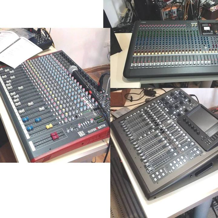 Studio24 - Mixer Analogici Digitali