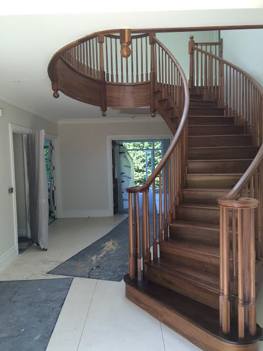 Building & Fitting of Staircase