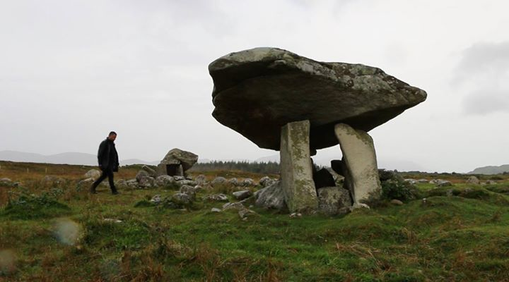 The dolmen at Portnoo... Ireland.
