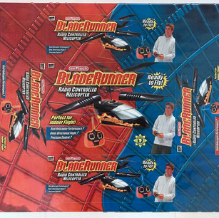 BladeRunner Box with Die Lines