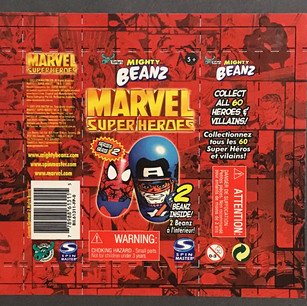 Licensed Marvel Mighty Beans