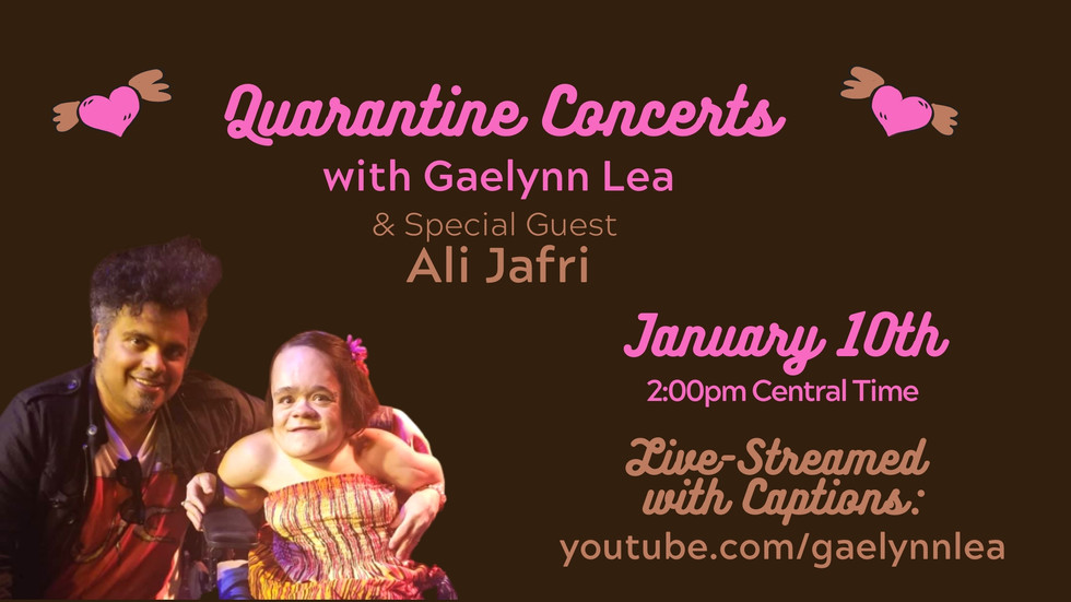 Gaelynn  Lea and Ali  Jafri  have a discussion between  songs re: new content  from Saintfield