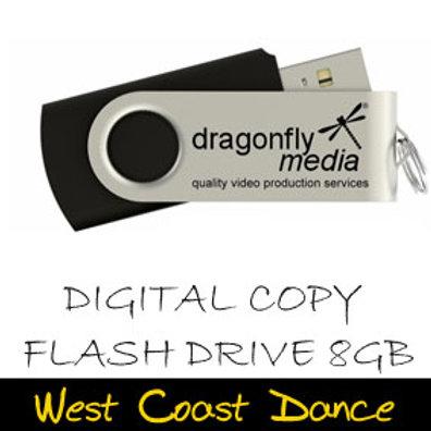 West Coast Dance High Definition USB