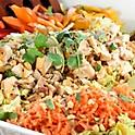 Chicken Salad with Peanut Dressing