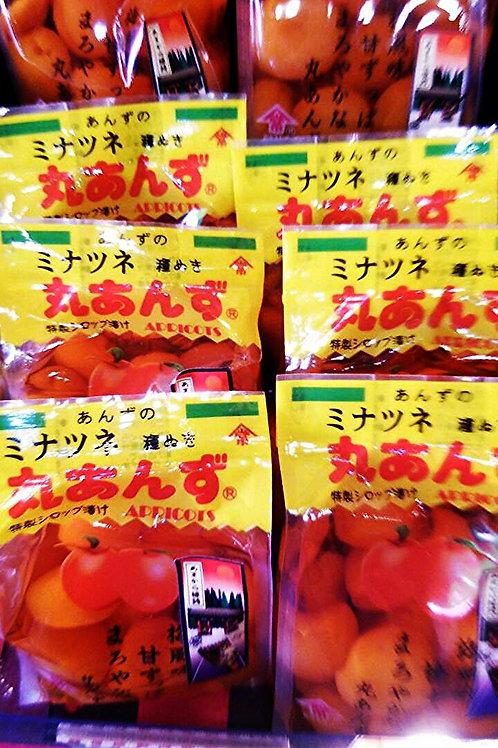 丸あんず Soft apricot in syrup
