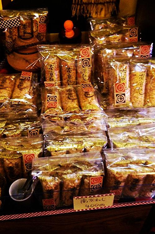 南京ねじ Peanut flavored cracker