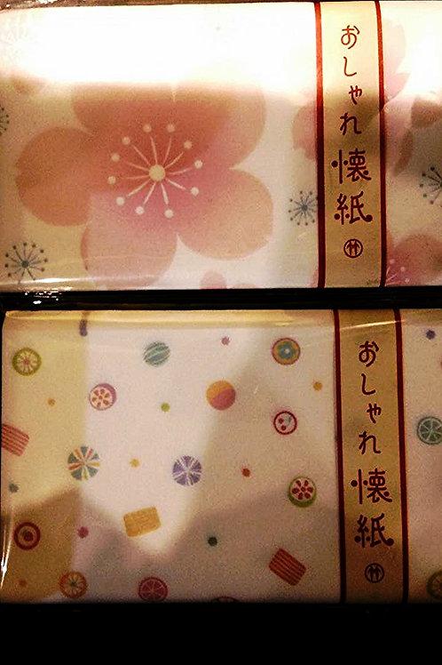 おしゃれ懐紙 Japanese tissue