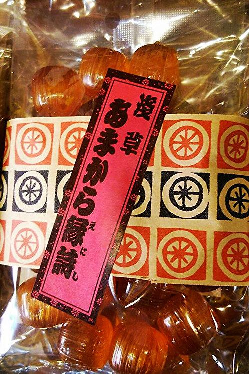 しょうゆ玉 Soy souce flavored candy