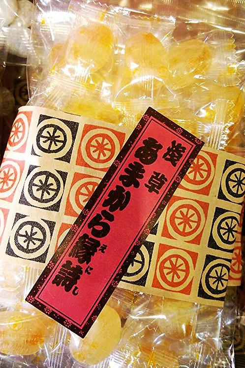 あんず飴 Apricot candy