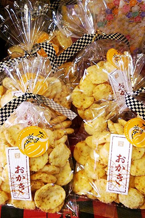 たまねぎおかき Onion flavored rice cracker