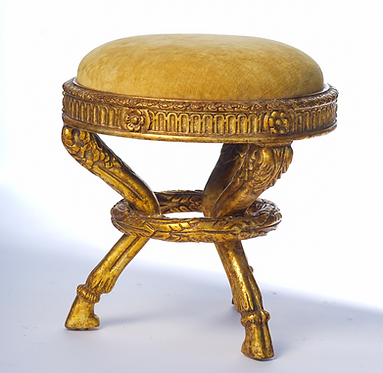 20th c. Italian Carved Stool