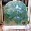 Thumbnail: Green Fluorite on Silver-leafed Base